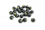 "AMMO, MARBLES, 5/8"", BLACK AND YELLOW"